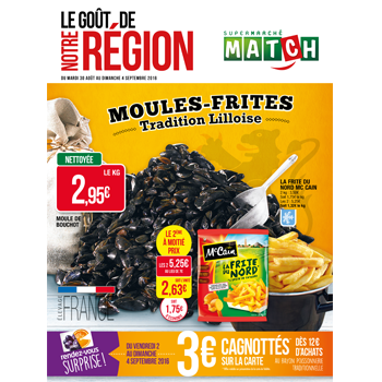 MOULES - FRITES, tradition Lilloise