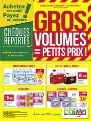 GROS VOLUMES 4 pages