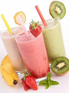 Les smoothies en folies !